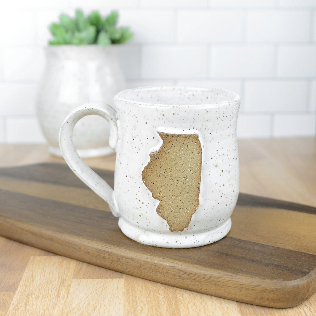 Illinois Mug, Small - Handmade Ceramics from Ice + Dust Pottery