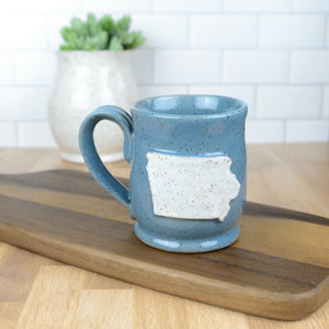 Iowa Mug, Small - Handmade Ceramics from Ice + Dust Pottery