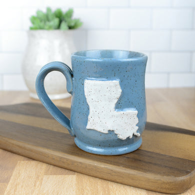 Louisiana Mug, Medium - Handmade Ceramics from Ice + Dust Pottery