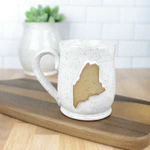 Maine Mug, Medium - Handmade Ceramics from Ice + Dust Pottery
