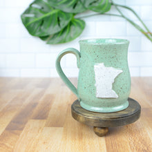 Load image into Gallery viewer, Minnesota Mug, Medium - Handmade Ceramics from Ice + Dust Pottery