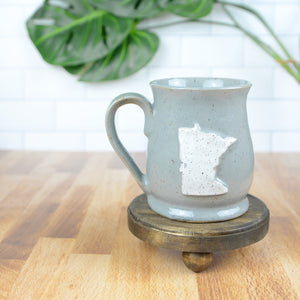 Minnesota Mug, Medium - Handmade Ceramics from Ice + Dust Pottery