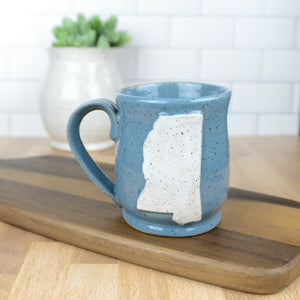 Mississippi Mug, Medium - Handmade Ceramics from Ice + Dust Pottery