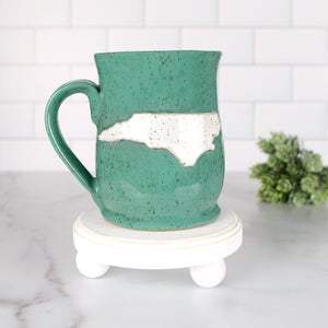 North Carolina Mug, Medium - Handmade Ceramics from Ice + Dust Pottery