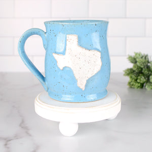 Texas Mug, Medium - Handmade Ceramics from Ice + Dust Pottery