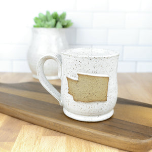 Washington Mug, Medium - Handmade Ceramics from Ice + Dust Pottery