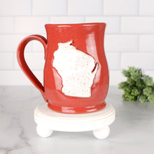 Load image into Gallery viewer, Wisconsin Mug, Medium - Handmade Ceramics from Ice + Dust Pottery