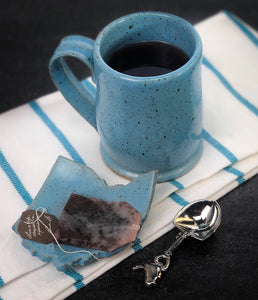Solid Speckled Mug, Medium - Handmade Ceramics from Ice + Dust Pottery