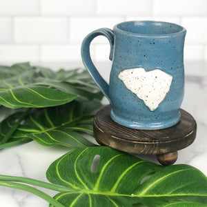 South Carolina Mug, Medium - Handmade Ceramics from Ice + Dust Pottery