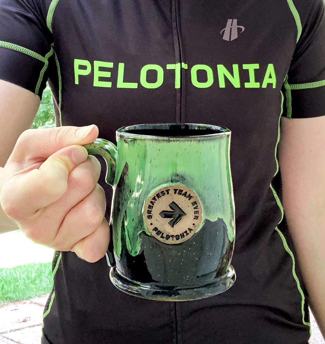 Pelotonia Mugs (Returning in 2021) - Handmade Ceramics from Ice + Dust Pottery