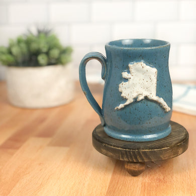 Alaska Mug, Medium - Handmade Ceramics from Ice + Dust Pottery