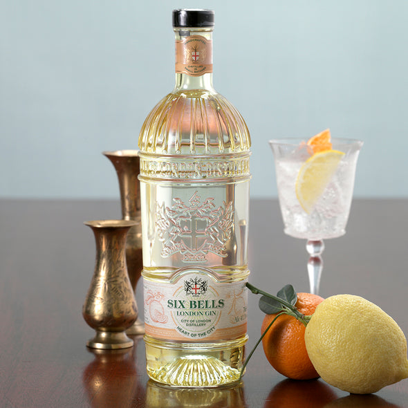 City of London Six Bells Gin | ABV 41.3% 70cl