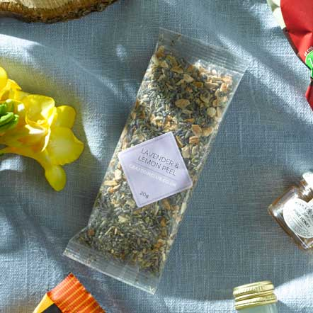 Lavender and Lemon Peel | Dried, 20g
