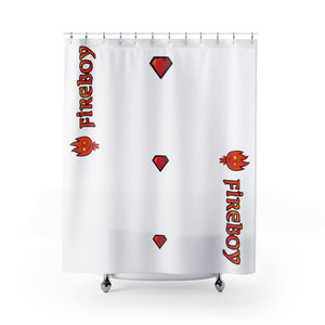 Fireboy Shower Curtains