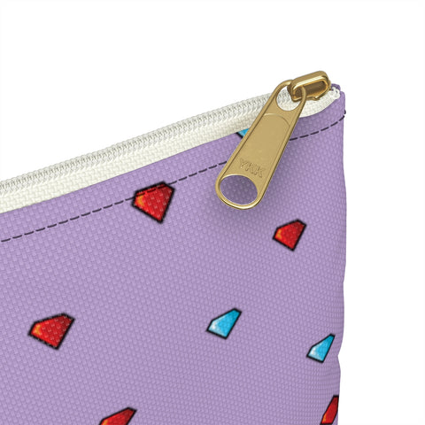 Image of Fireboy&Watergirl Accessory Pouch (Purple)