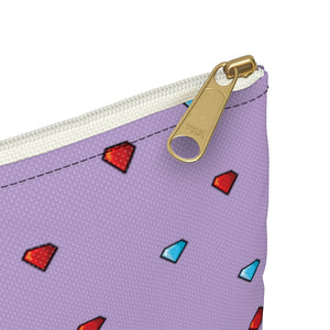 Fireboy&Watergirl Accessory Pouch (Purple)