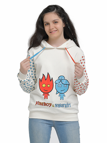 Image of fireboy watergirl sweatshirt