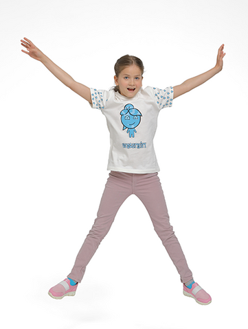 Image of watergirl t-shirt on model