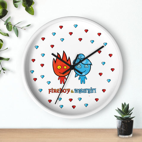 Image of Fireboy&Watergirl Wall clock