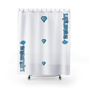 Watergirl Shower Curtains