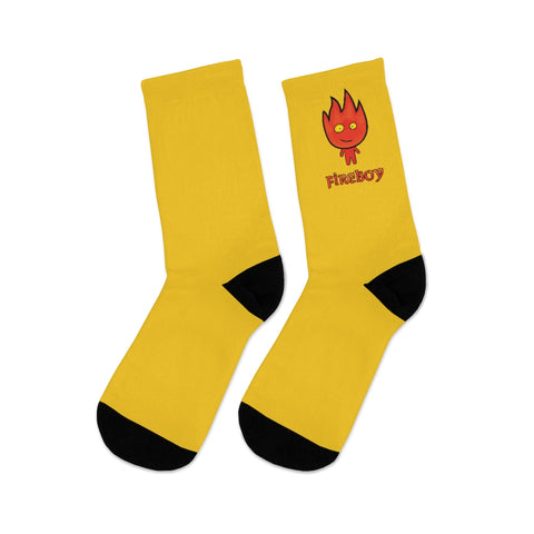 Image of Fireboy DTG Socks (Yellow)