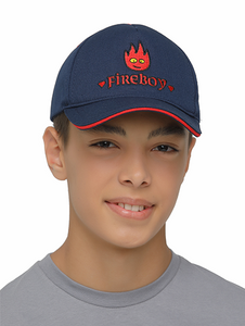 fireboy cap on model