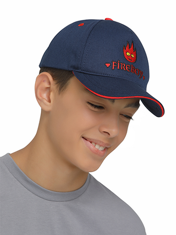 Image of fireboy cap rear