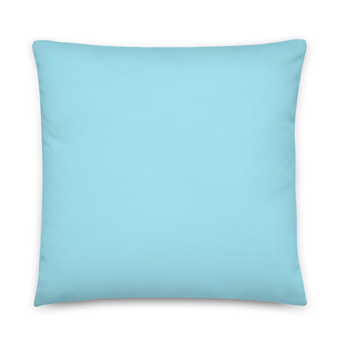 Fireboy&Watergirl Pillow (Light Blue)