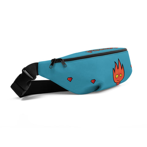 Fireboy Fanny Pack (Turquoise)