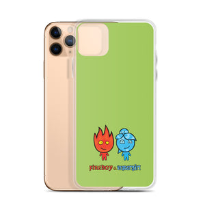 Fireboy&Watergirl iPhone Case (Green)
