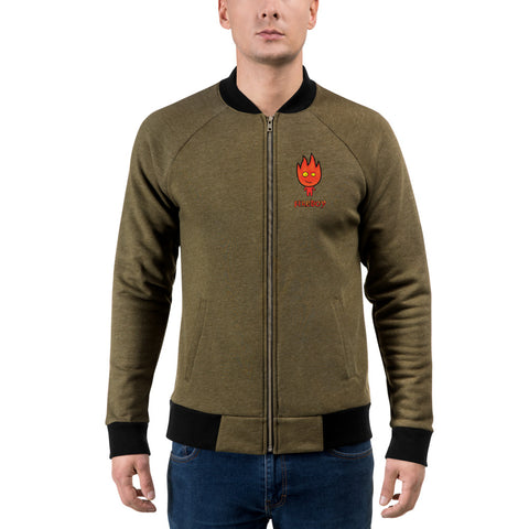 Image of Fireboy Bomber Jacket