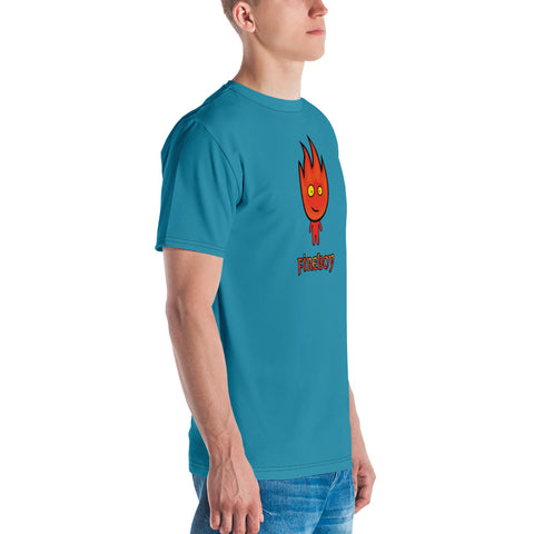 Adult Fireboy T-shirt (Pine Green)