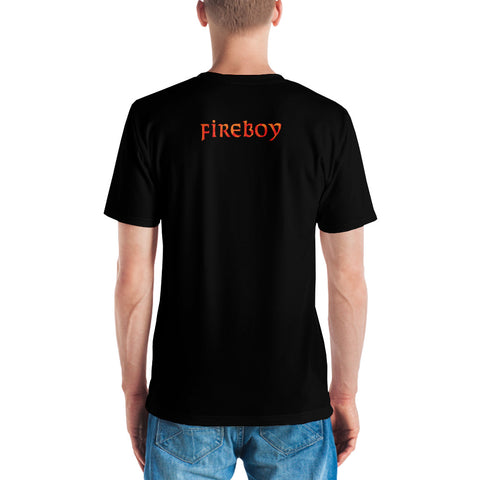 Adult Fireboy T-shirt (Black)