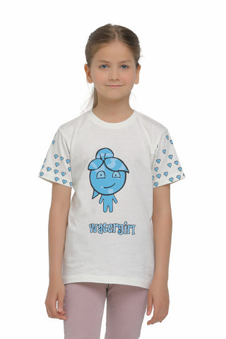 Image of watergirl tshirt on model