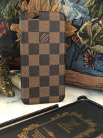 LV Check (Brown iPhone)