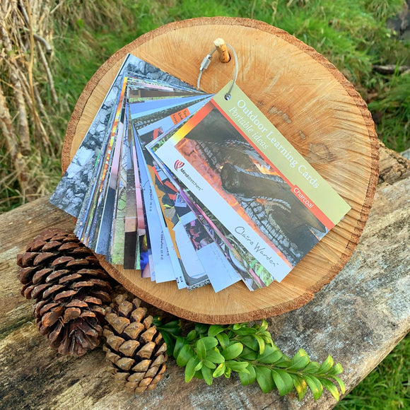 Outdoor Learning Cards: Charcoal