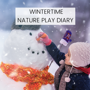 FREE DOWNLOAD - Wintertime Nature Play Diary