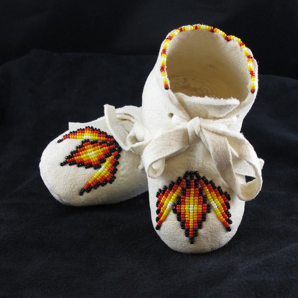 Geometric Baby Moccasin
