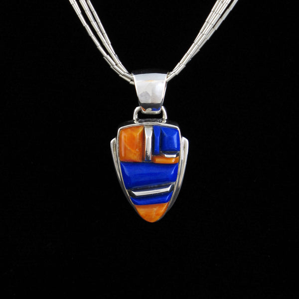 Lapis Pendant Earring Set