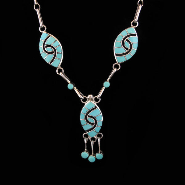 Turquoise Inlay Set
