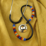Navajo Beaded Blue Stethoscope