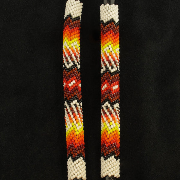 Navajo Beaded White Stethoscope
