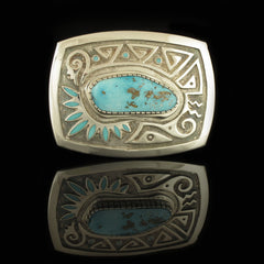Decorative Navajo Belt Buckle
