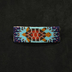 Beaded Turtle Barrette