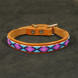 Small Blue Dog Collar