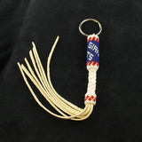 Giants Beaded Keychain