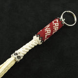 Cardinals Beaded Keychain