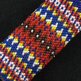 Native American Beaded Blue Lighter Case