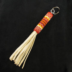 Red Beaded Key Chain