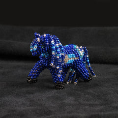 Miniature Beaded Pony